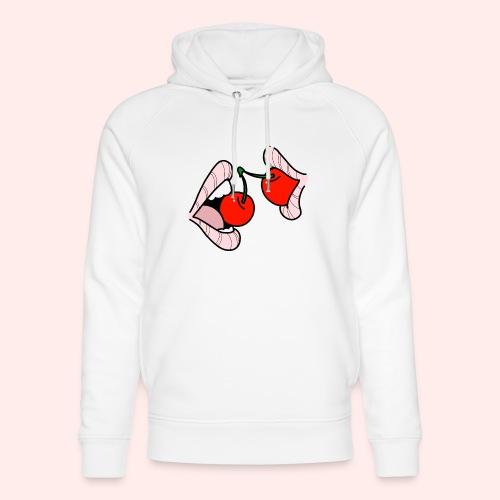 Cherry lips - Unisex Bio-Hoodie von Stanley & Stella