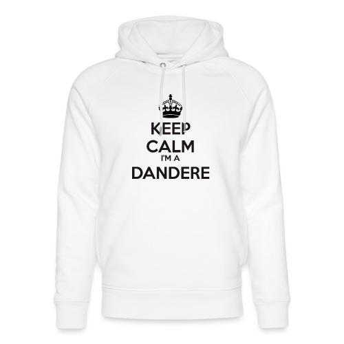 Dandere keep calm - Unisex Organic Hoodie by Stanley & Stella