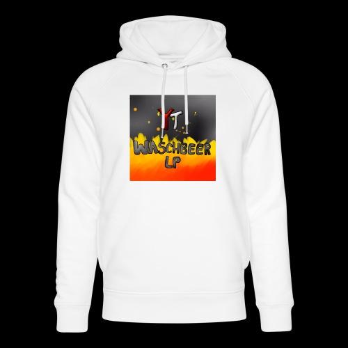 Waschbeer Design 2# Mit Flammen - Unisex Bio-Hoodie von Stanley & Stella