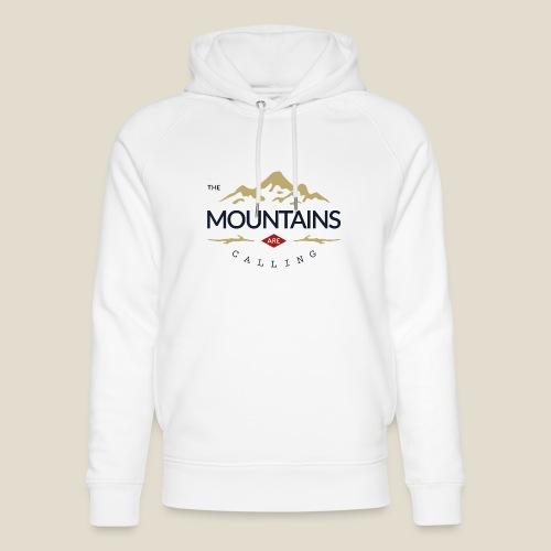 Outdoor mountain - Sweat à capuche bio Stanley & Stella unisexe