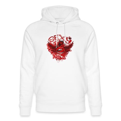 SEXY Lips heart Wings - Sexy Lippen Herz Flügel - Unisex Bio-Hoodie von Stanley & Stella