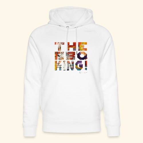 THE BBQ KING T SHIRTS TEKST - Uniseks bio-hoodie van Stanley & Stella