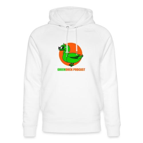 Greenduck Podcast Logo - Stanley & Stella unisex hoodie af økologisk bomuld