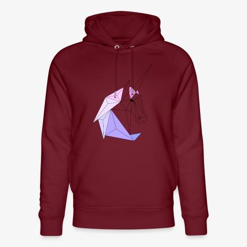 Einhorn geometrie unicorn - Unisex Bio-Hoodie von Stanley & Stella