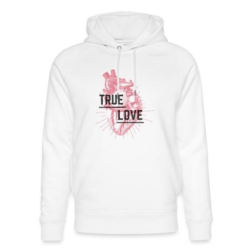 True Love - Felpa con cappuccio ecologica unisex di Stanley & Stella
