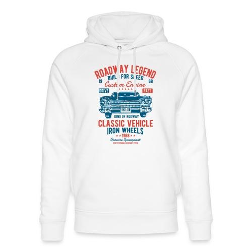 Roadway Legend - Uniseks bio-hoodie van Stanley & Stella