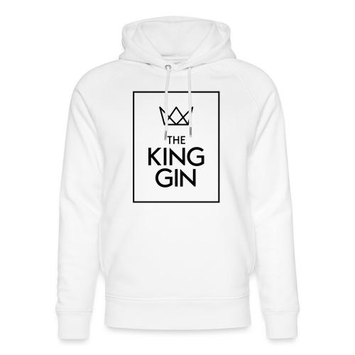 The King Gin Logo schwarz RGB Rahmen - Unisex Bio-Hoodie von Stanley & Stella
