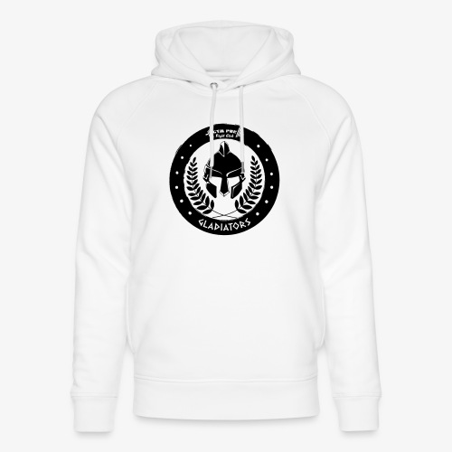 Gym Pur Gladiators Logo - Unisex Organic Hoodie by Stanley & Stella