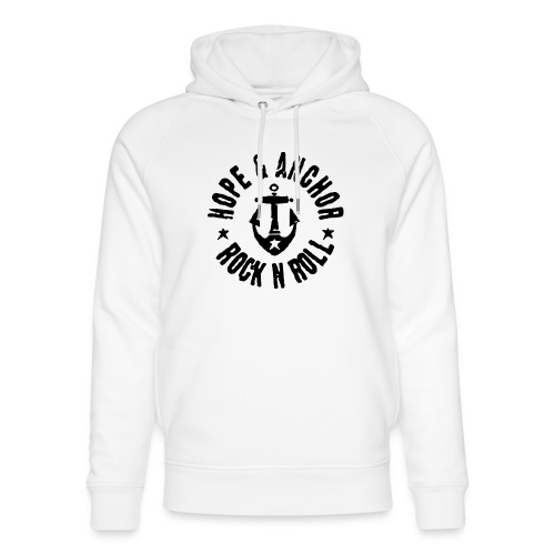 Hope & Anchor - Rock´n´Roll - Unisex Bio-Hoodie von Stanley & Stella