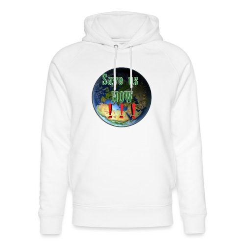 save us earth friday for future - Unisex Organic Hoodie by Stanley & Stella