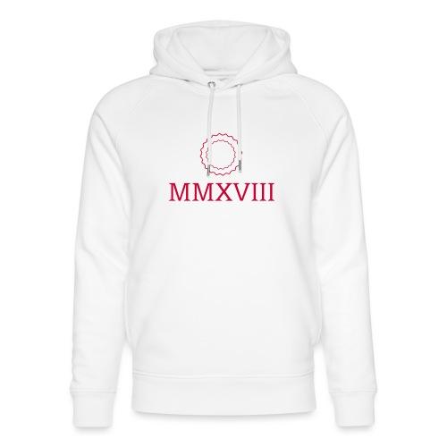 MMXVIII - logo - Sweat à capuche bio Stanley & Stella unisexe