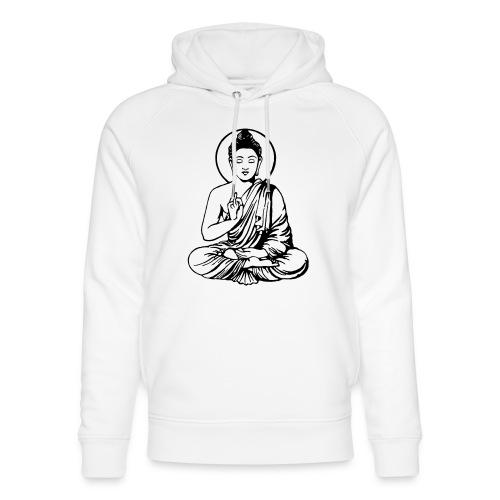 Buddha-Vektor-Outline - Unisex Bio-Hoodie von Stanley & Stella