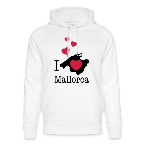 love Mallorca Balearen Spanien Ferieninsel Urlaub - Unisex Organic Hoodie by Stanley & Stella