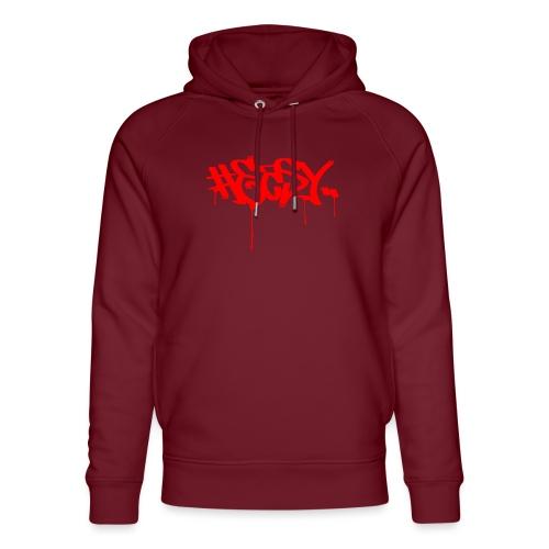 #EASY Graffiti Logo T-Shirt - Felpa con cappuccio ecologica unisex di Stanley & Stella