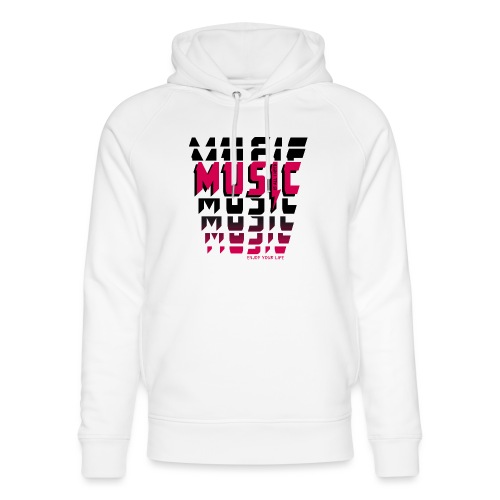 Music is all i need - Unisex Bio-Hoodie von Stanley & Stella