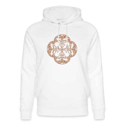 Anglian gold (Mellowed) - Unisex Organic Hoodie by Stanley & Stella