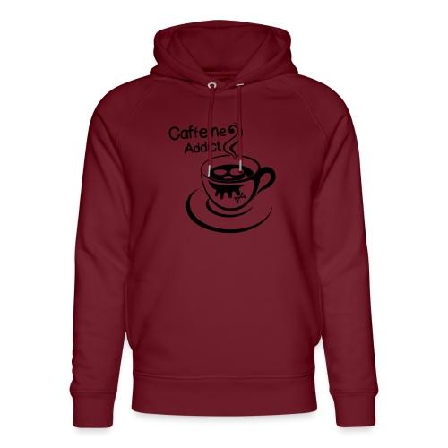 Caffeine Addict - Uniseks bio-hoodie van Stanley & Stella