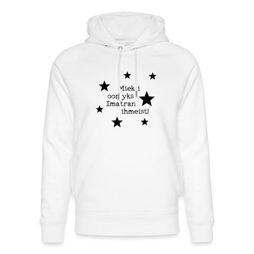Miekii oon yks Imatran Ihmeist lasten t-paita - Stanley & Stellan unisex-luomuhuppari