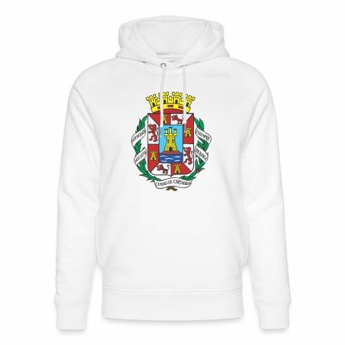 Escudo Cartagena - Sudadera con capucha ecológica unisex de Stanley & Stella