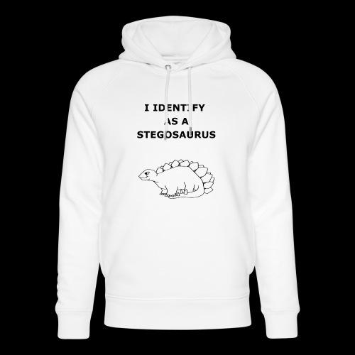 Stegosaurus - Unisex Organic Hoodie by Stanley & Stella