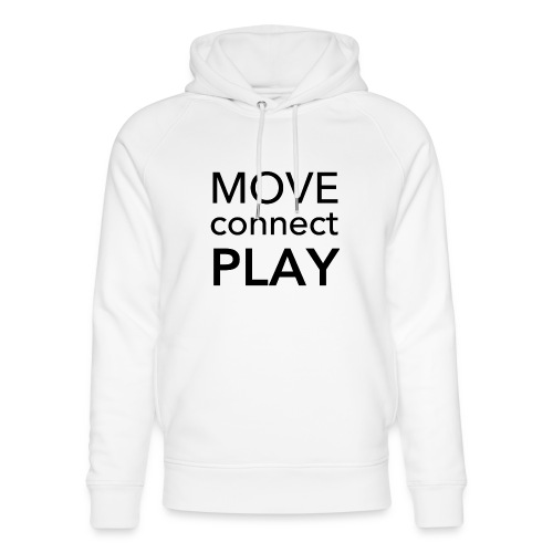 Move Connect Play - AcroYoga International - Unisex Organic Hoodie by Stanley & Stella