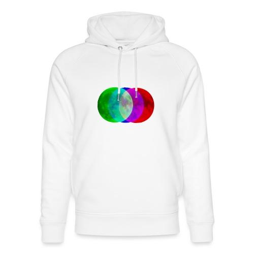 RGB moon - Ekologiczna bluza z kapturem typu unisex Stanley & Stella