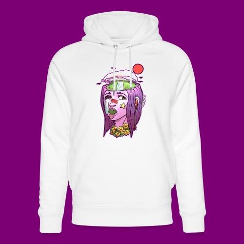 Pink Girl - Uniseks bio-hoodie van Stanley & Stella