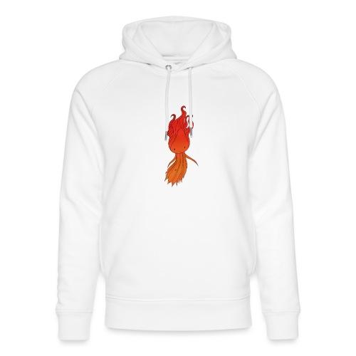 Red nymph - Stanley & Stella unisex hoodie af økologisk bomuld