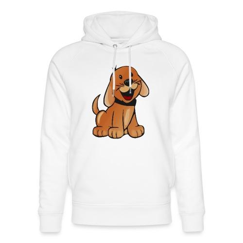 cartoon dog - Felpa con cappuccio ecologica unisex di Stanley & Stella
