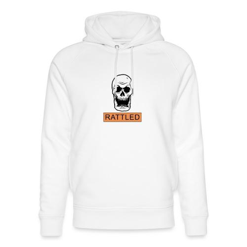 Rattled Spooky Halloween Skeleton Meme - Unisex Organic Hoodie by Stanley & Stella