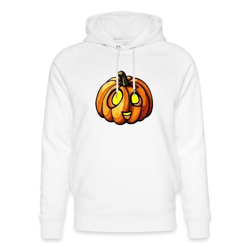 Pumpkin Halloween watercolor scribblesirii - Stanley & Stellan unisex-luomuhuppari