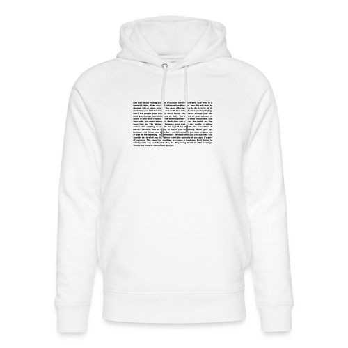 Das ultimative Motivation und Inspiration Shirt - Unisex Bio-Hoodie von Stanley & Stella