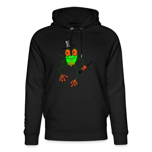 Dancing Frog - Unisex Organic Hoodie by Stanley & Stella