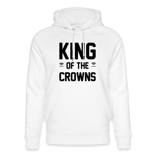 King of the crowns - Uniseks bio-hoodie van Stanley & Stella