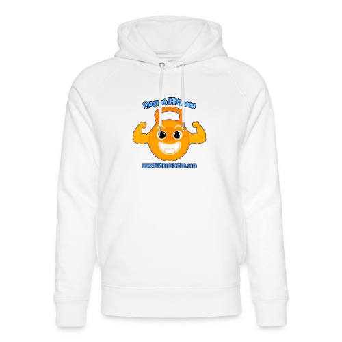 Logo 01Musculation Home Fitness Kettlebell - Sweat à capuche bio Stanley & Stella unisexe
