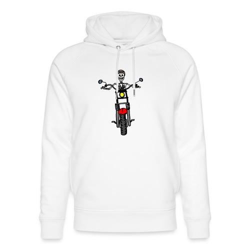 calavera moto - Sudadera con capucha ecológica unisex de Stanley & Stella