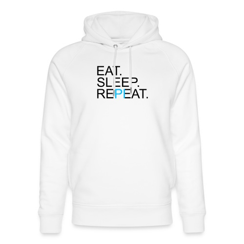 Eat Sleep Repeat PI Mathe Hell - Unisex Bio-Hoodie von Stanley & Stella