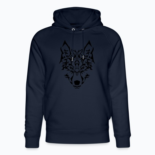 Tribal Wolf - Sweat à capuche bio Stanley & Stella unisexe