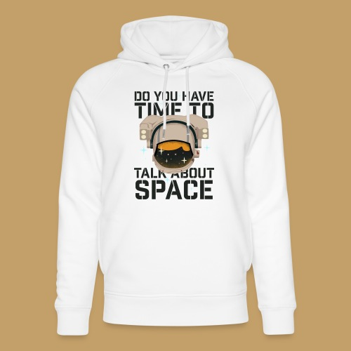 Time for Space - Ekologiczna bluza z kapturem typu unisex Stanley & Stella
