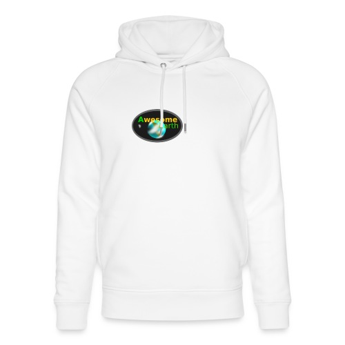 awesome earth - Unisex Organic Hoodie by Stanley & Stella