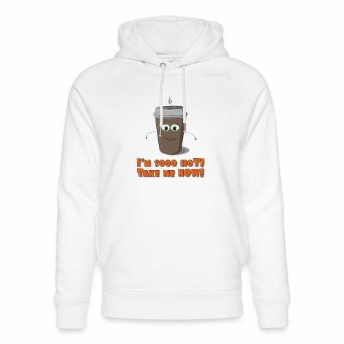 Coffee to go - Ekologiczna bluza z kapturem typu unisex Stanley & Stella