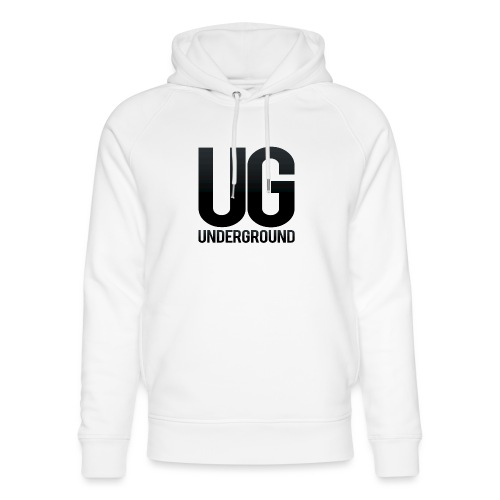 UG underground - Unisex Organic Hoodie by Stanley & Stella