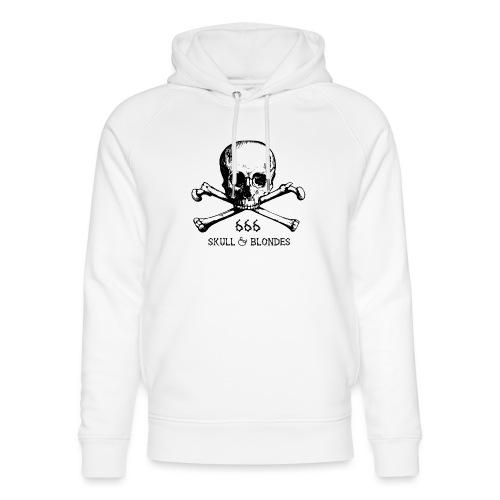 skull & blondes (black) - Unisex Bio-Hoodie von Stanley & Stella