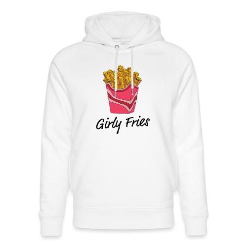 Girly Fries - Stanley & Stella unisex hoodie af økologisk bomuld