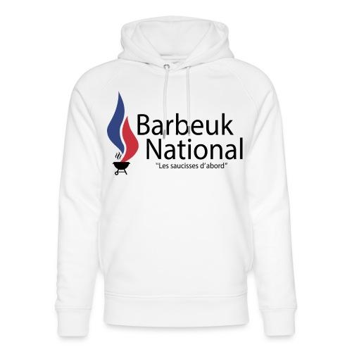BARBEUK NATIONAL - Sweat à capuche bio Stanley & Stella unisexe