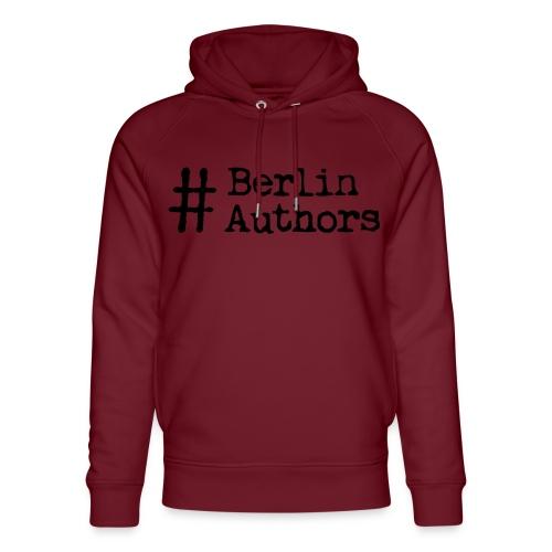 BerlinAuthors Logo Black - Unisex Bio-Hoodie von Stanley & Stella