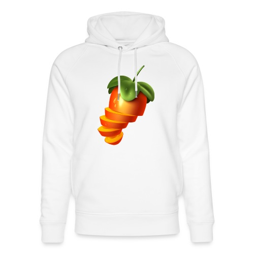 Sliced Sweaty Fruit - Unisex Organic Hoodie by Stanley & Stella