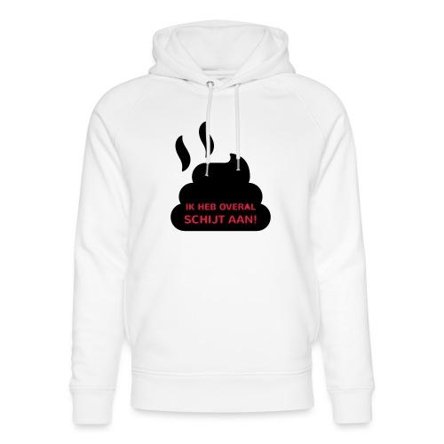 Grappige Rompertjes: Ik heb overal schijt aan - Uniseks bio-hoodie van Stanley & Stella