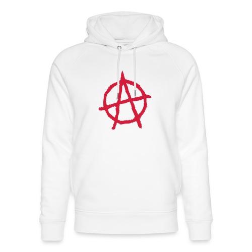 Anarchy Symbol - Unisex Organic Hoodie by Stanley & Stella