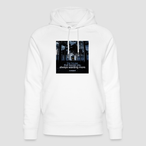 The House - Unisex Organic Hoodie by Stanley & Stella